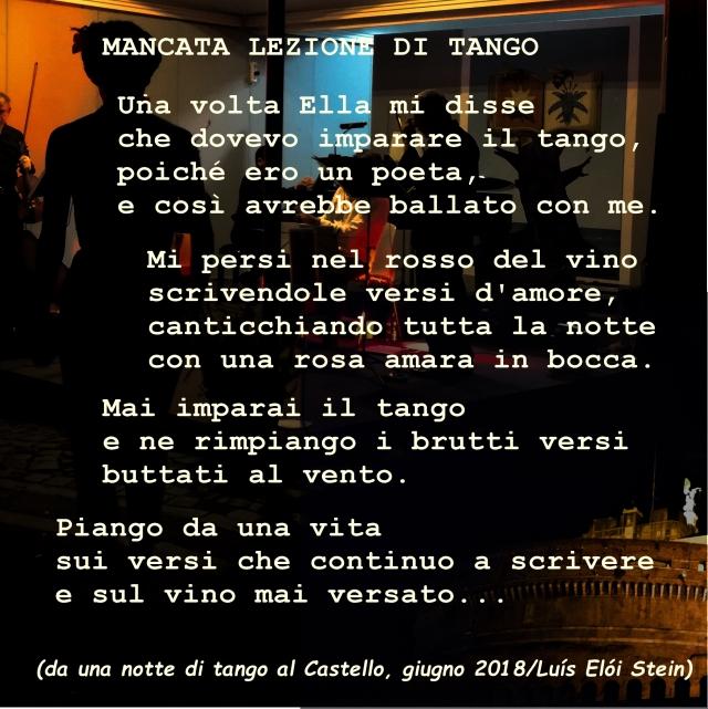 Mancata lezione di tango F3
